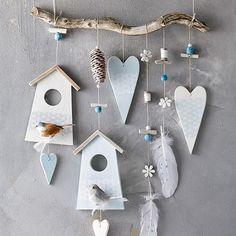 Naturzauber Frühling - New Ideas Diy Clay, Clay Crafts, Home Crafts, Diy And Crafts, Arts And Crafts, Nature Crafts, Clay Christmas Decorations, Christmas Crafts, Wood Craft Patterns