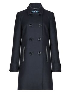 Best of British Pure Wool Double Breasted Peacoat   M&S