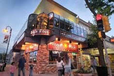 Food: High Rock Cafe Wisconsin Dells - great food!
