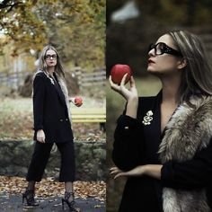 Get this look: http://lb.nu/look/8470787  More looks by Madalina Gugila: http://lb.nu/styleisfresh  Items in this look:  Mango Blazer, C&A Culottes, Zara Sandals, Marc By Marc Jacobs Glasses   #chic #classic #elegant