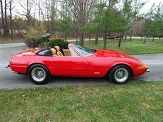 1972 Ferrari Daytona 365 Alloy Spider conversion for sale Ferrari Mondial, Ferrari 458, Classic Sports Cars, Classic Cars, Miami Vice, Drag Cars, Kit Cars, My Dream Car, Chevrolet Corvette