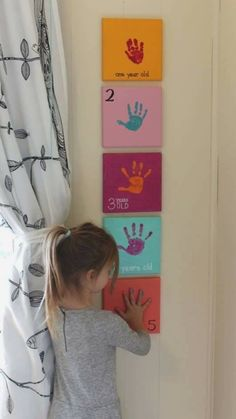 Start with her school years and let her decorate each print