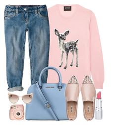 """""""Find me a bambi"""" by monmondefou ❤ liked on Polyvore featuring Michael Kors, Miu Miu, HoneyBee Gardens and Fuji"""