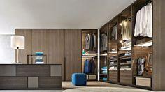 Casa Design in Boston - carries Living Divani furniture Closet World, Closet Walk-in, Closet Bedroom, Closet Ideas, Closets, Master Closet, Front Closet, Bedroom Decor, Contemporary Bedroom Furniture