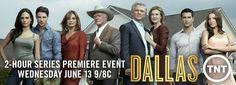Visit the set of Dallas during Season 2 Production.