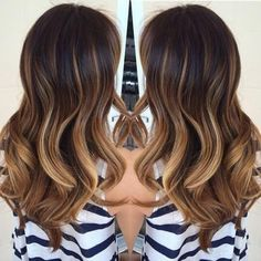 "fuckyeahhairstyle: ""Ombre balayage """