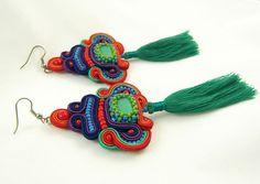 Macrame, Crochet Necklace, Beads, Earrings, Etsy, Jewelry, Fashion, Beading, Ear Rings