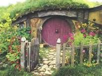 Fairy Outdoor Hobbit House
