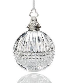 Waterford Crystal Lismore Diamond Ball Ornament New in Box Christmas Ornaments To Make, Christmas Tree Themes, Ball Ornaments, Christmas Traditions, Beautiful Christmas, White Christmas, Christmas Holidays, Snowflake Ornaments, Xmas