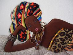 African woman quilt...beautiful.
