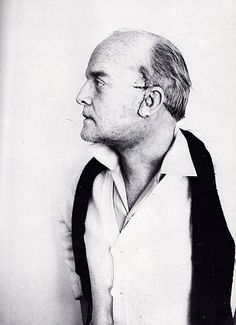 Truman Capote, documented his Face Lift with professional black and white photos, he was a very vain man.