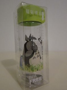 Studio Ghibli My Neighbor Totoro Plastic Water Bottle #C