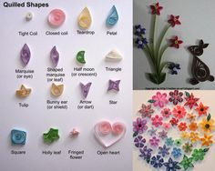 quilling patterns | Out of these designs, I know 2-3….plenty to learn and create…I ...