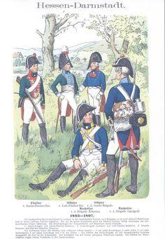 Band IV #19.- Hessen-Darmstadt. Infanterie. 1803-1807.