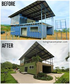 Building A Container Home, Container Buildings, Container Architecture, Architecture Design, Sustainable Architecture, Shipping Container Home Designs, Container House Design, Tiny House Design, Shipping Containers
