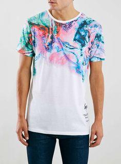 Hype White Fade T-Shirt* - TOPMAN EUROPE