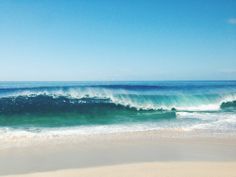 that would be a pretty cool wave to surf #beach