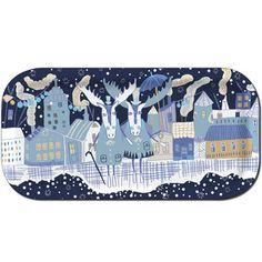"plingsulli - Image of Tray ""Wintertime"" 43x22"