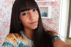 vivy's moda: Cortes de cabelos com Franja é tendência para 2016...