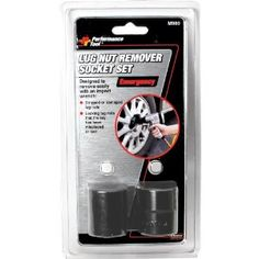 Wilmar M980 Emergency Lug Nut Removal Set by Wilmar. $11.20. Wilmar's M980 emergency lug nut removal set works to remove lug nuts and locking lug nuts, if the lug nut key is misplaced, lost or lug nuts are worn, stripped or damaged. Heavy duty impact-grade steel will not split or crack. 13/16-Inch and 1-Inch sizes fit most lug nuts/bolts on most vehicles. 1/2-Inch drive.