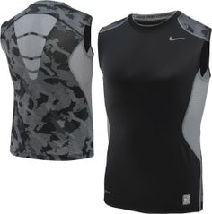 Nike Men's Hypercool Fitted Camo Sleeveless Shirt - Dick's Sporting Goods