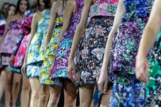 Mary Katrantzou Spring 2014 Ready-to-Wear Collection on Style.com: Atmosphere