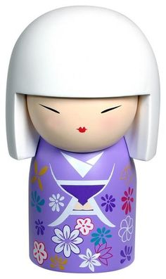 """Kimmidoll™ Saika - 'Colourful Flower' - """"My spirit flourishes and energises. By sharing your vibrant nature, you release my spirit. Let all the beautiful colours of your soul flourish, so you may bring energy and passion to the world."""""""