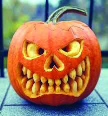 Thanksgiving Recipes Legend of picture score for pumpkin carving ideas 2016 result # … Halloween Tags, Scary Halloween, Halloween Pumpkins, Fall Halloween, Halloween Crafts, Happy Halloween, Pumpkin Carving Party, Pumpkin Art, Pumpkin Faces