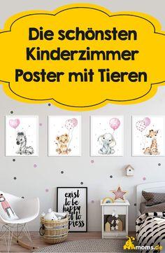 Um weißen oder hellen Wänden im Kinderzimmer aufzupeppen eignen sich wunderbar #Poster mit Tieren an den Wänden! Je nach dem gibt es hier oft schon unterschiede zwischen Mädchen und Jungs und dennoch sind alle immer wirklich super niedlich! Natürlich gibt es aber auch genügend die einfach Geschlechtsneutral gehalten sind, wenn sich z.B. Geschwister ein Zimmer teilen! Natürlich eignen sich auch ABC Poster oder Buchstaben Poster ganz wunderbar! Abc Poster, Baby Zimmer, Diy Inspiration, Super, Home Decor, Siblings, Parents, Dividing Rooms, Woodland Creatures