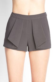 Origami Layered Shorts