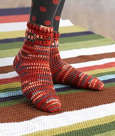 Crochet-Cozy Crochet Socks