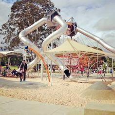 Awesome NEW playground opened in Fairfield, Western Sydney. The playground is…