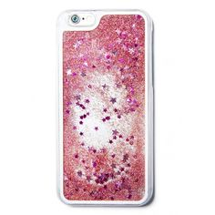 Star Dust Liquid Glitter Waterfall Case (Rose)