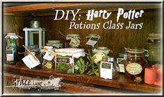 Uniquely Grace: Harry Potter Potions and Ingredients Decorations for a Party - Post #3...If you're looking for ideas for a great HP party... check out this blog post. WOW!!!