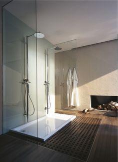Starck shower trays from Duravit