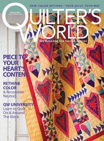 quilter's world fevereiro 11 - compartilha tudo - Álbumes web de Picasa