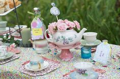 Madhatter Tea Party by catching caterpillars, via Flickr