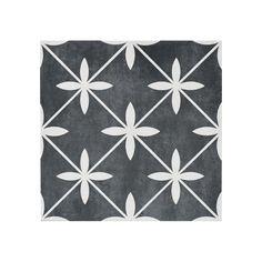 Wicker York Charcoal 45cm x 45cm Floor Tile Porch Flooring Tiles, Tile Floor, Karim Rashid, Laura Ashley, Tiles Direct, Stills For Sale, Monochrome Fashion, Floor Colors, Wet Rooms