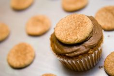 Snickerdoodle Cupcakes: Cupcakes with a Surprise Inside (from Cupcake Project)