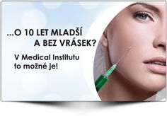 Zbavte se vrásek jednou pro vždy! Medical Institut