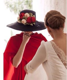 Invitada boda de rojo