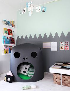 Weekday carnival castle kids room.