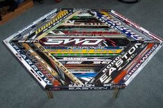 I think I have enough hockey sticks in the house to make this. :)
