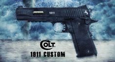 Colt 1911 Custom CO2 Pistole 4,5mm Stahl BB - Blowback