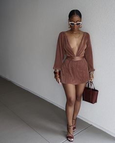 Classy Outfits, Chic Outfits, Fashion Outfits, Womens Fashion, Inspired Outfits, Black Girl Fashion, Fashion Looks, Dress And Heels, Dress Up
