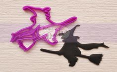Double, double, toil and trouble! Use this Witch Cutter to bake spellbinding cookies and cakes this Halloween.
