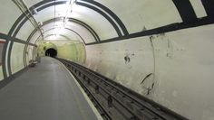 Aldwych Tube Station, London. | 14 Beautiful Abandoned Places In Britain