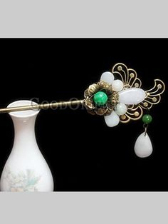Classical Handcrafted Hair Ornament--Yu Lin