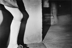 """""""He says when he took the picture, he was just shooting a girl's knee, but in the end the whole composition, the way the shadows and angles line up, make the picture transcend the knee."""" A conversation about Mark Cohen's """"Dark Knees."""""""