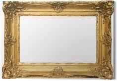 Obraz na Plátně Pozlacený dřevěný rám obrazu w / cesta (široký) - Značky a symboly Oversized Mirror, Home Decor, Decoration Home, Room Decor, Home Interior Design, Home Decoration, Interior Design